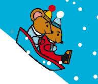 mouses on a sledge