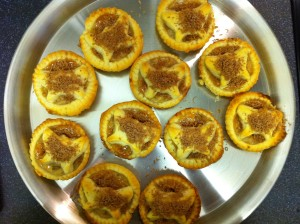 Butterfly Banoffee Tarts