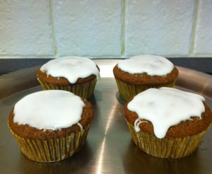 Gingerbread Lingonberry Muffins 2