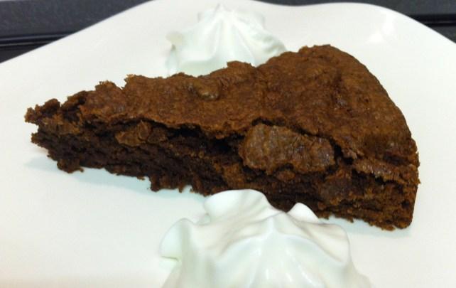 Swedish Sticky Chocolate Cake ... Kladdkaka