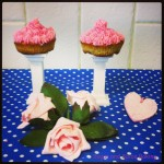 Rhubarb Apple Ginger Cupcakes Sugar and Spice Baking