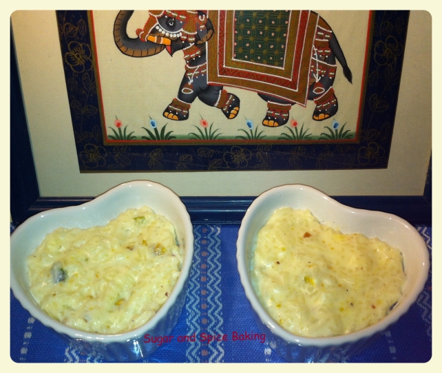 Kheer Sugar and Spice Baking